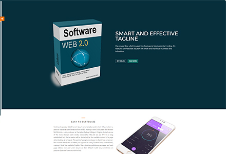 product showcase page